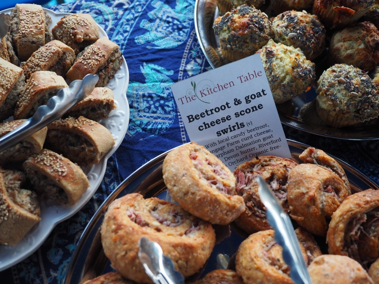 Cheddar, Pea and Grown in Totnes Spelt Flour Scone Swirls