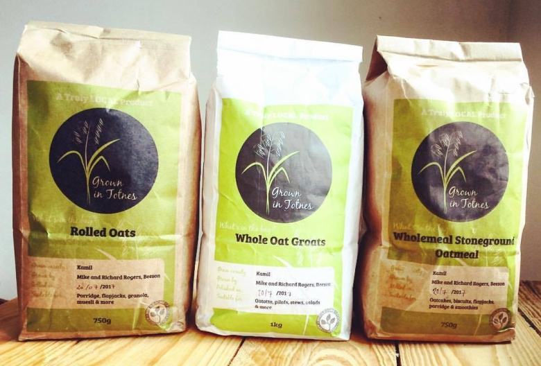 Grown in Totnes local grains and local pulses British grains British pulses