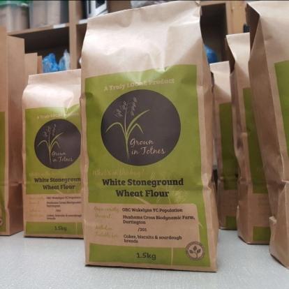 Grown in Totnes, Grown in Devon White Stoneground Wheat Flour